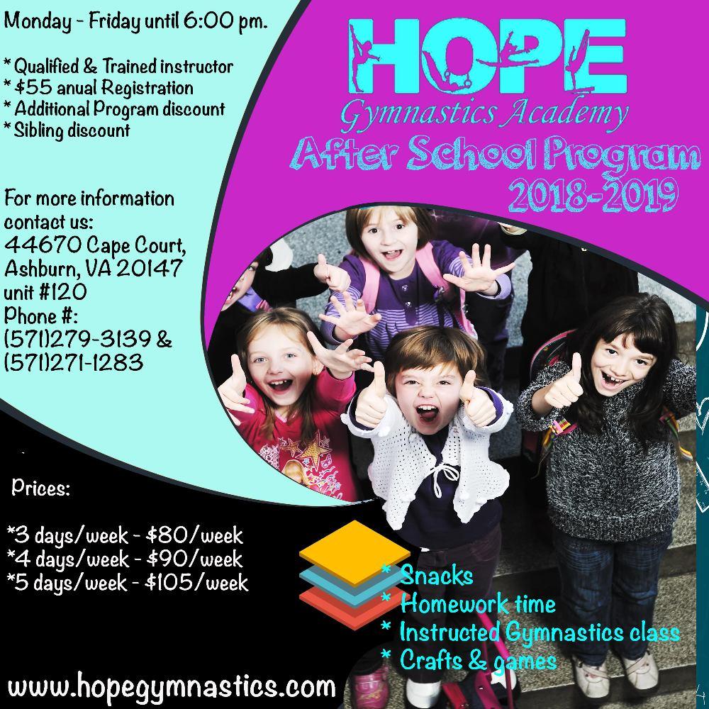 hope after school